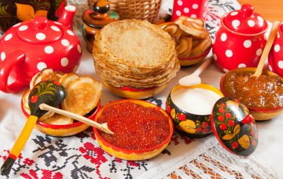 La settimana grassa in Russia: è ora di divertirsi  Масленица — начало сырной недели